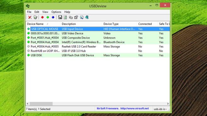USBDeview: USB-Sticks verwalten ©COMPUTER BILD