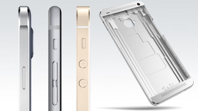 Metall-Smartphones©Samsung, Apple, HTC