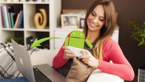 Datentransfer zwischen Android und Mac©Android, Apple, Fotolia.com - ganko,  Fotolia.com - gpointstudio