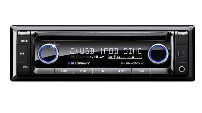 Spotify über das Autoradio hören (App) ©Blaupunkt