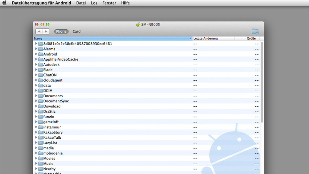 Android File Transfer Datentransfer Per Usb Kabel Bilder Screenshots Computer Bild