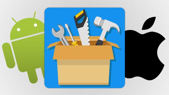 Tuning-Apps für Smartphones im Test©Apple, Google, PrettyVectors - Fotolia.com