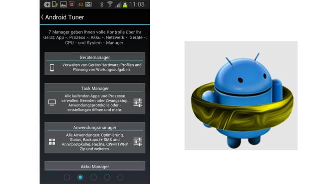 testergebnisse der android apps bilder screenshots computer bild. Black Bedroom Furniture Sets. Home Design Ideas