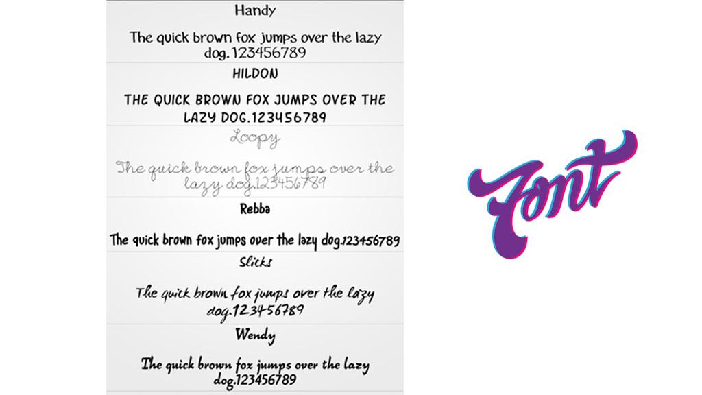 Die coolsten Schriftarten für Android-Smartphones - Bilder
