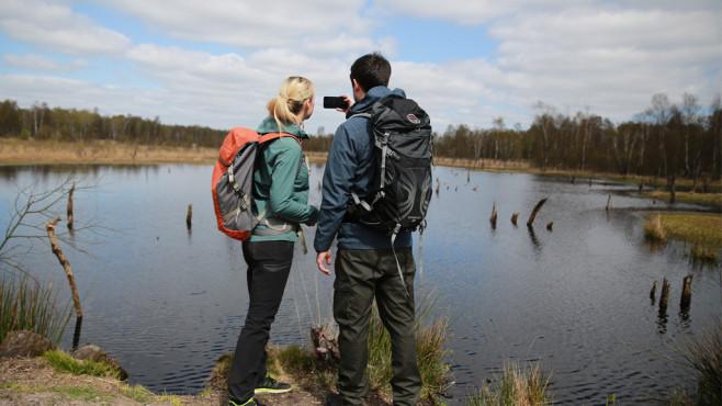 Entfernungsmesser Für Wanderkarten : Test: outdoor apps fürs handy computer bild