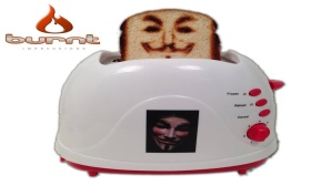 Vermont Novelty Toaster © burntimpressions.com