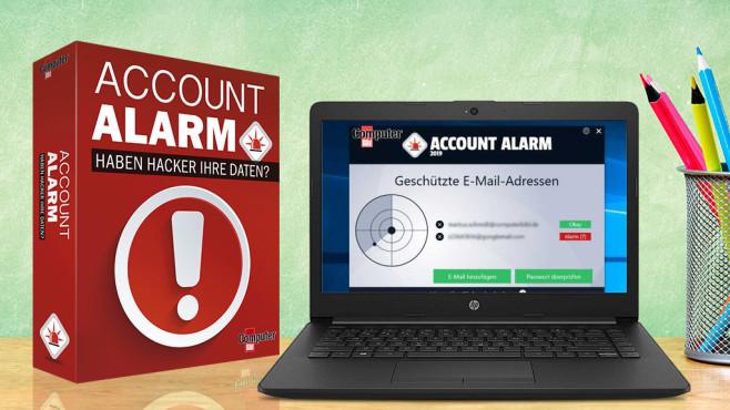 Account-Alarm: Schutz vor Datendiebstahl©Romolo Tavani/Fotolia.com