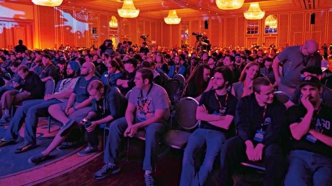 QuakeCon 2014: Saal ©COMPUTER BILD SPIELE