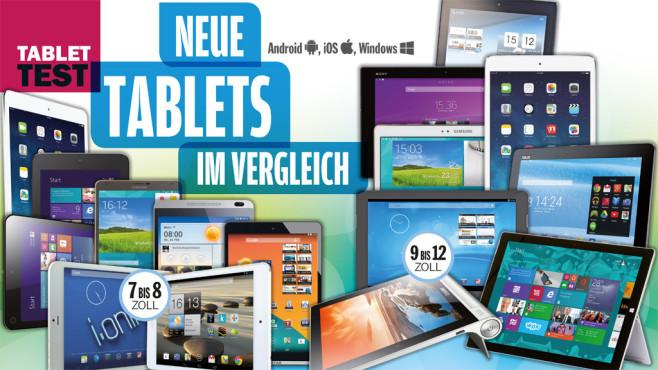 Tablet-PC-Test: Die besten Modelle in der Übersicht ©COMPUTERB BILD