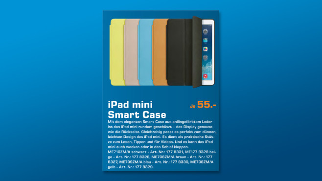 Apple Smart Case für iPad mini ©Saturn