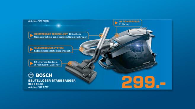 Bosch BGS5SIL66 ©Saturn