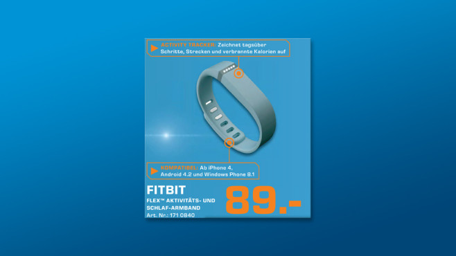 Fitbit Flex ©Saturn