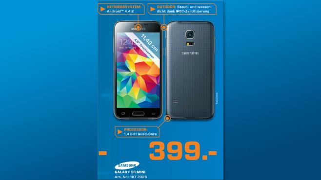 Samsung Galaxy S5 mini ©Saturn