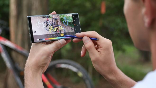 Samsung Galaxy Note 10 ©COMPUTER BILD