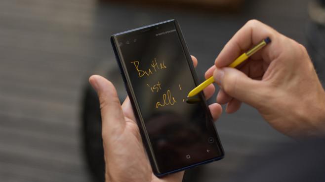Samsung Galaxy Note 9 ©COMPUTER BILD