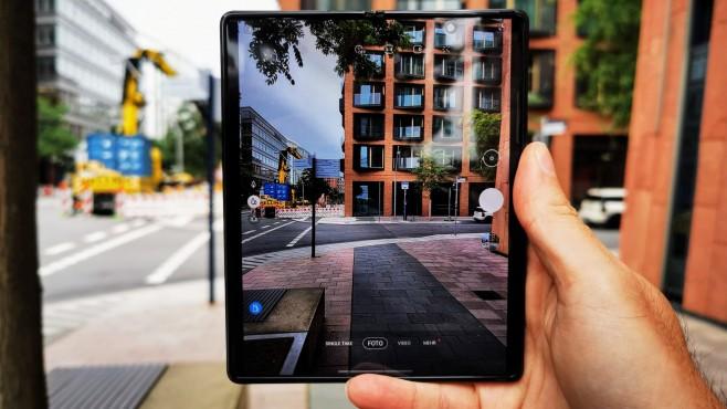 Samsung Galaxy Z Fold 2 ©COMPUTER BILD / Michael Huch