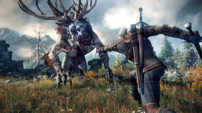 The Witcher 3 – Wild Hunt: Kampf © CD Projekt Red