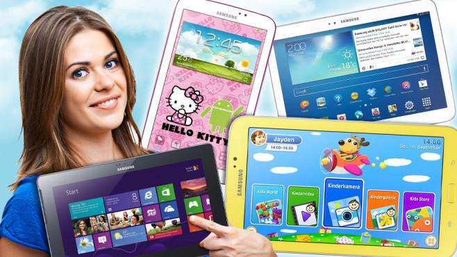 Die beliebtesten Samsung-Tablets©Samsung, Yuriy Shevtsov - Fotolia.com
