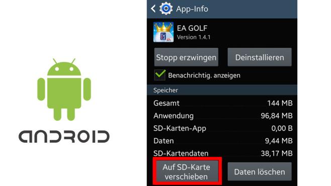 huawei bilder auf sd karte verschieben Android: Apps auf SD Karte verschieben   Bilder, Screenshots