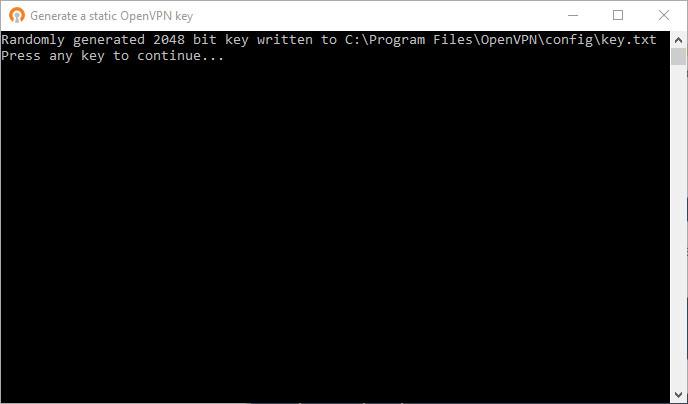 Screenshot 1 - OpenVPN