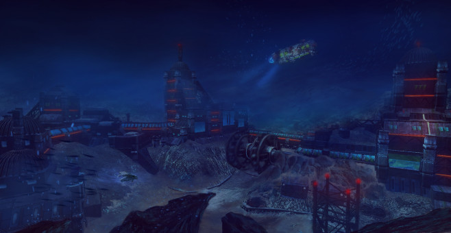 Aquanox – Deep Descent: Station © Nordic Games