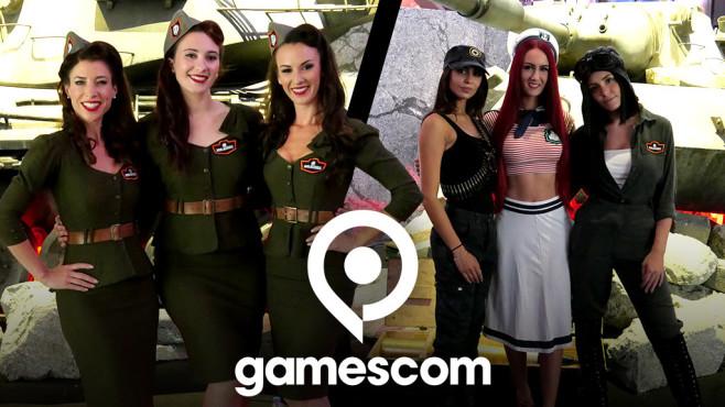 Gamescom-Messe-Babes: Prickelnde Impressionen aus Köln Auf der Gamescom 2019 sind die netten Hostessen immer für ein Lächeln zu haben.©COMPUTER BILD, Gamescom