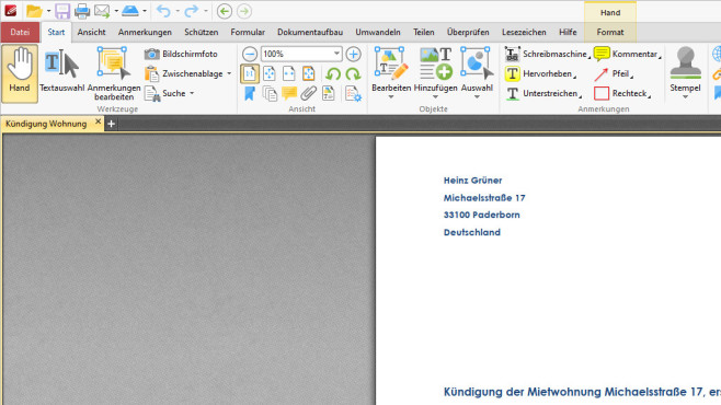 PDF-XChange Editor ©COMPUTER BILD