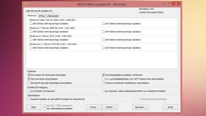 WSUS Offline Update ©COMPUTER BILD