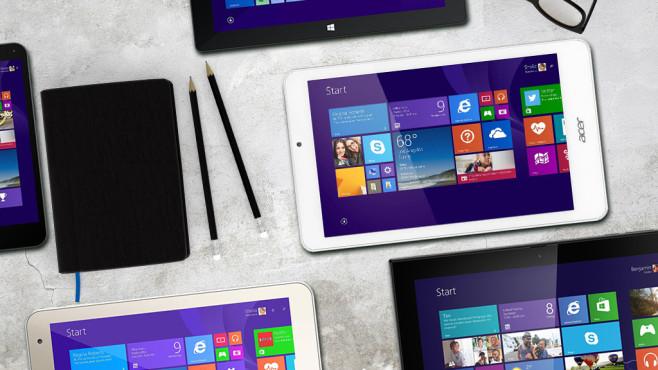 Windows-Tablets©xtravagant - fotolia.com, Acer, Nokia/Microsoft, HP, Toshiba, Trekstor