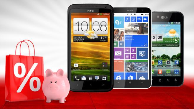 Gut und günstig: 30 Smartphone-Schnäppchen ©LG, Nokia, HTC, ag visuell - Fotolia.com