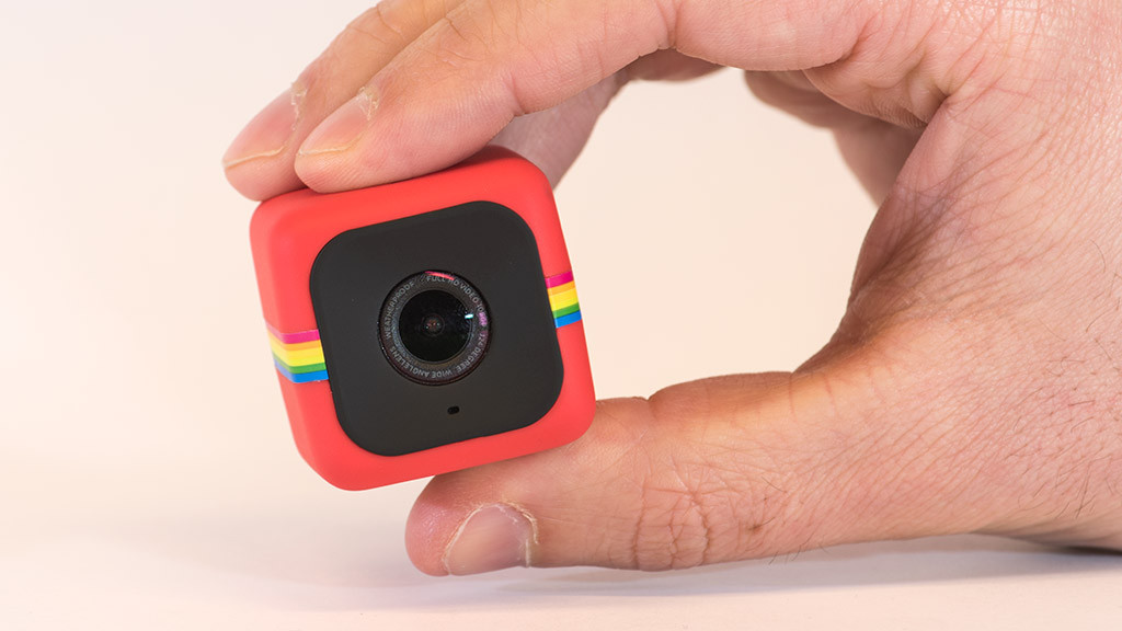 polaroid cube winzige action cam audio video foto bild. Black Bedroom Furniture Sets. Home Design Ideas