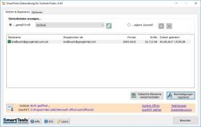 SmartTools Datenrettung für Outlook