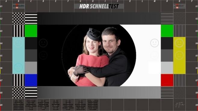 HDR-Testbild für UHD-Fernseher ©COMPUTER BILD