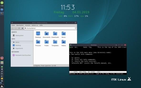 MX Linux ©COMPUTER BILD