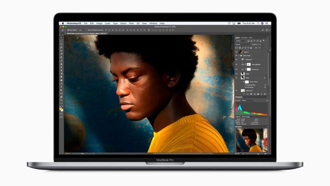 Apple MacBook Pro 13 Zoll 2018 ©Apple