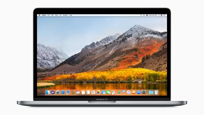 Apple MacBook Pro 15 Zoll Retina 2017 ©Apple