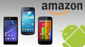 Das sind die beliebtesten Android-Smartphones bei Amazon©Sony, Samsung, Motorola, Amazon, Google