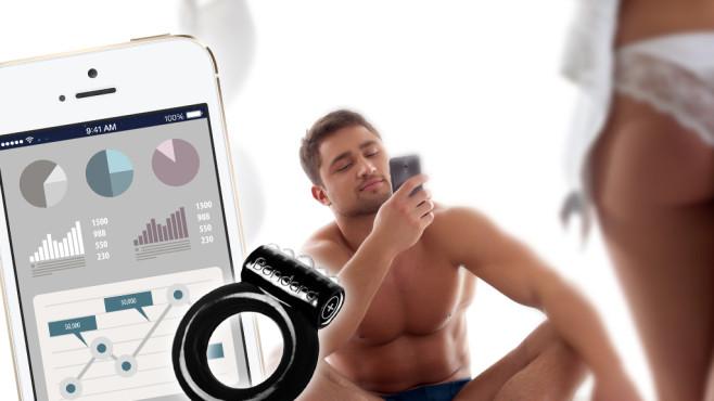 Der smarte Penisring mit App-Anbindung©Wisky - Fotolia.com, Yes Man - Fotolia.com, Apple