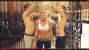 Ice Bucket Challenge Helene Fischer©Helene Fischer