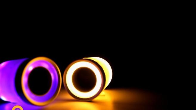 Ton & Licht: Lightfreq bringt Musik und Licht ins Haus LightFreq: Diese Lampe spielt Musik.©LightFreq