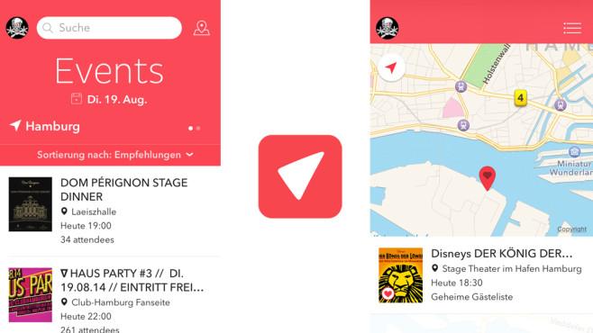 Vamos – der Event-Guide ©Vamos & Friends UG