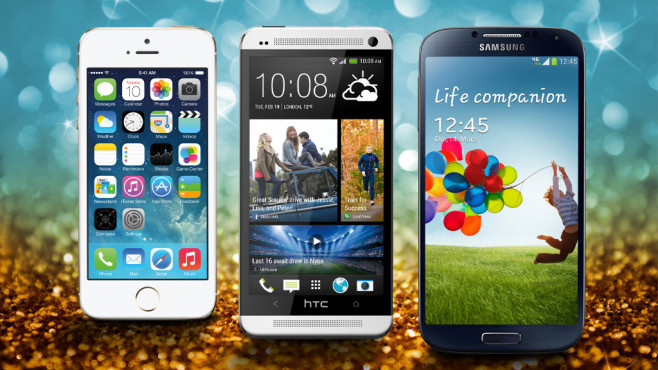 Smartphone-Test: Die besten Modelle ©Apple. Samsung, HTC, RFsole - Fotolia.com