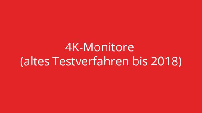 Test 4K-Monitore (altes Testverfahren bis 2018) ©COMPUTER BILD