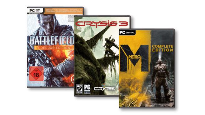4K-Spiele ©EA, Crytek, Deep Silver