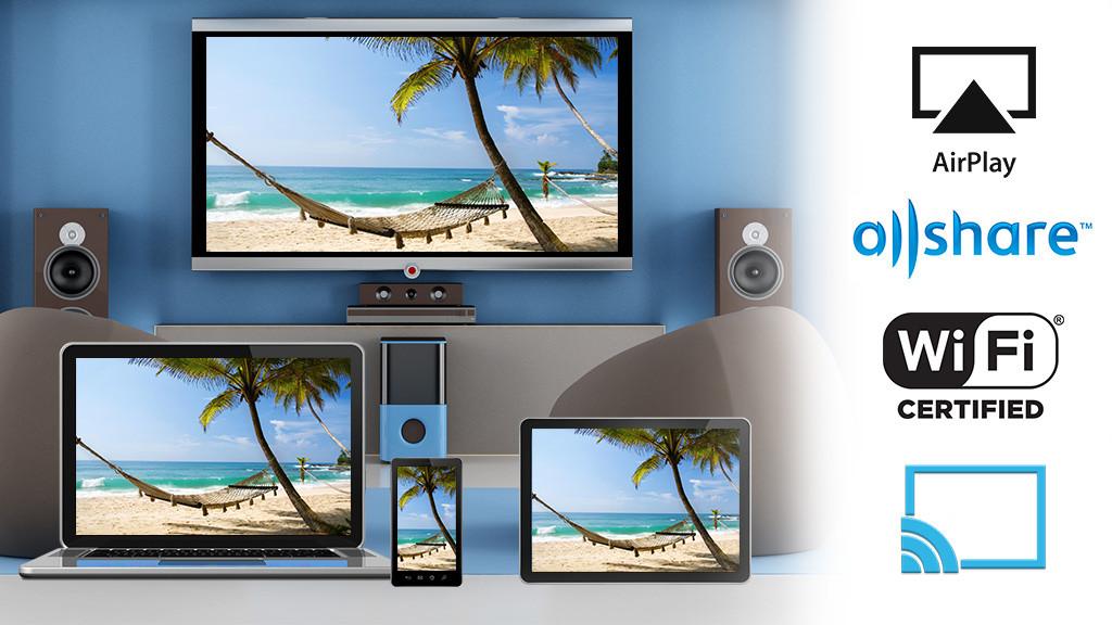 tipps laptop und smartphone mit fernseher verbinden audio video foto bild. Black Bedroom Furniture Sets. Home Design Ideas