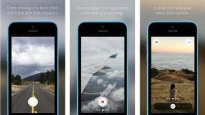 Hyperlapse auf dem Apple iPhone©Instagram
