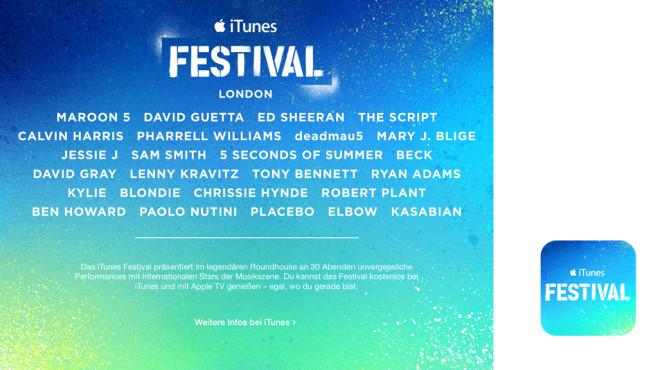 iTunes Festival ©iTunes
