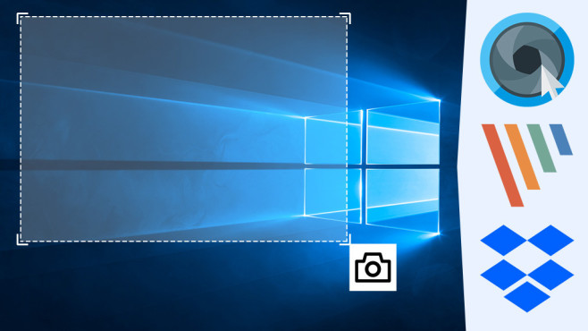 Ashampoo Snap 9, PicPick und Dropbox: Screenshots besser erstellen ©COMPUTER BILD