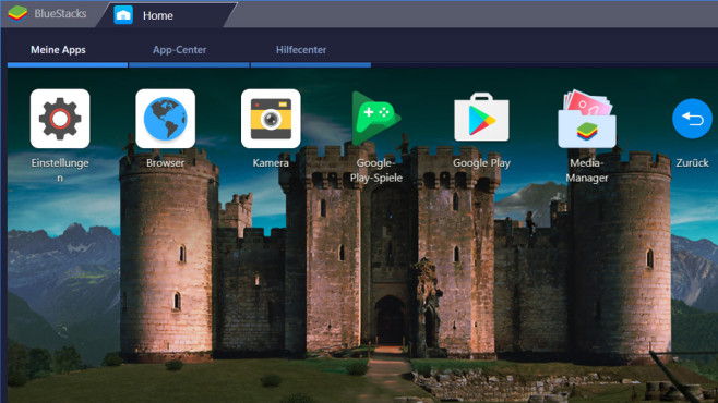 Bluestacks App Player: Android-Apps unter Windows ©COMPUTER BILD
