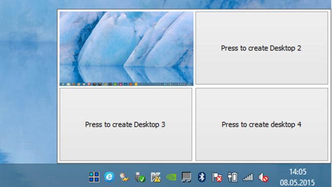 Desktops: Virtuelle Arbeitsoberflächen verwenden ©COMPUTER BILD